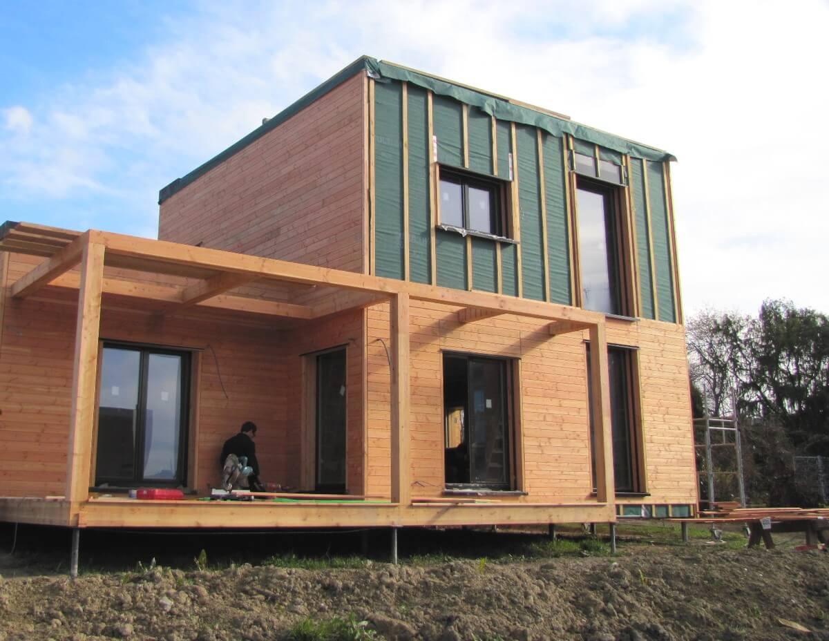 Rénovation de façades Isolation et bois Charpente et Création